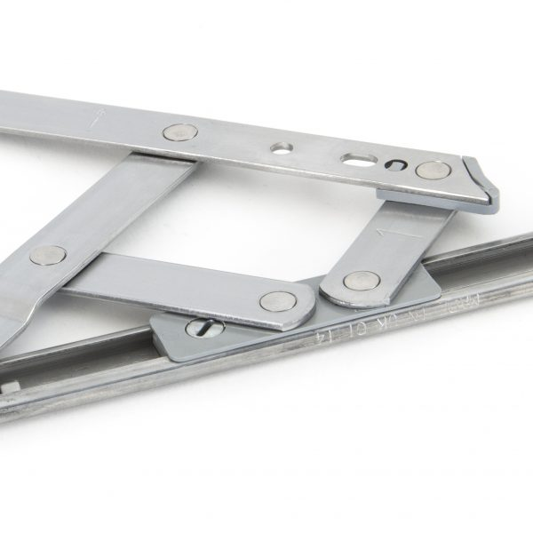 An image of a silver friction hinge