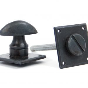 An image of a black handle from the ironmongery